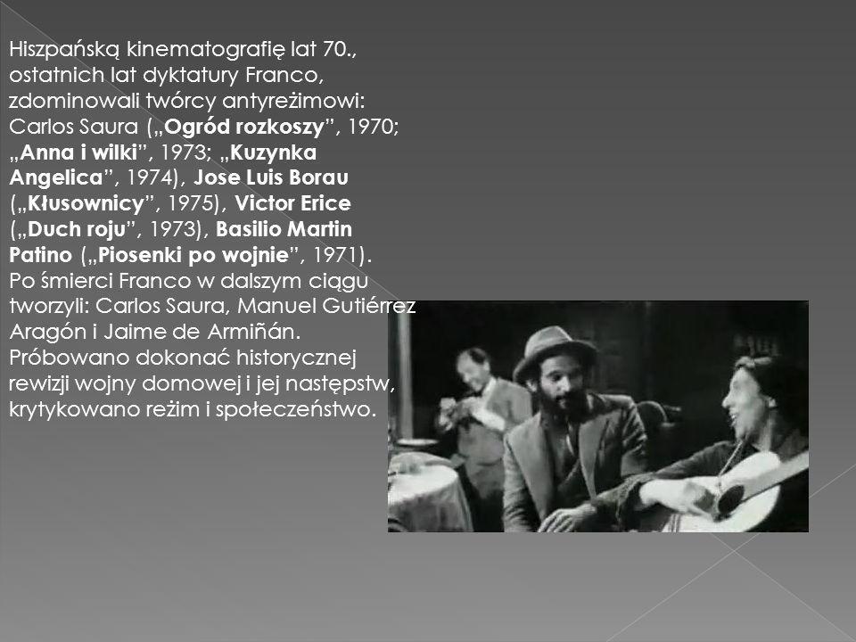 Hiszpańską kinematografię lat 70