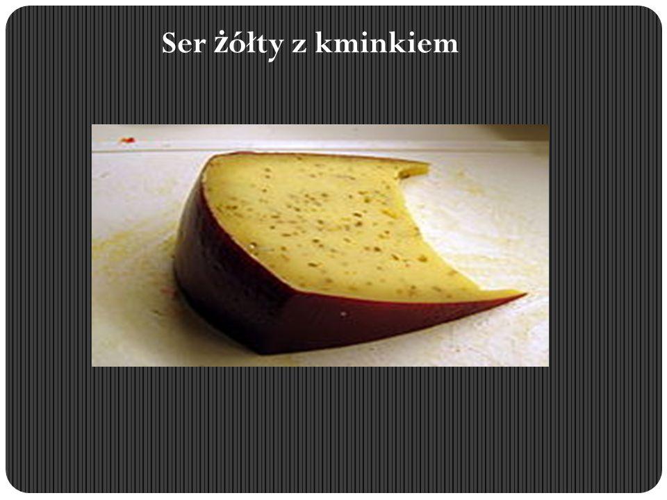 Ser żółty z kminkiem