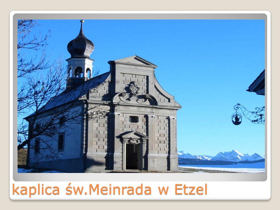 kaplica św.Meinrada w Etzel