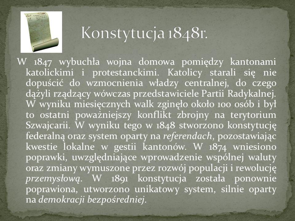 Konstytucja 1848r.