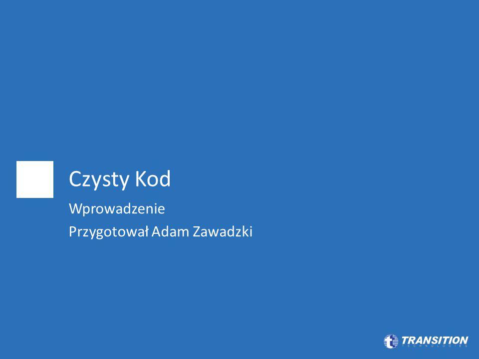 Wprowadzenie Przygotował Adam Zawadzki