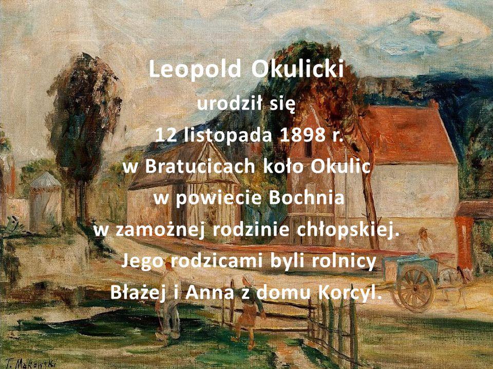 Leopold Okulicki urodził się 12 listopada 1898 r.