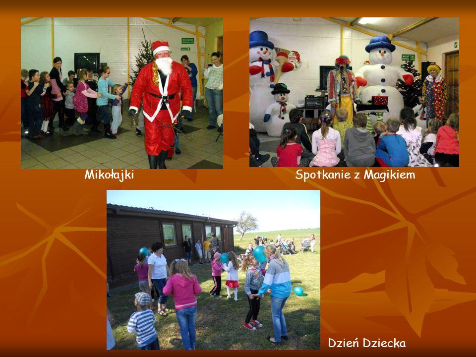 Mikołajki Spotkanie z Magikiem Dzień Dziecka