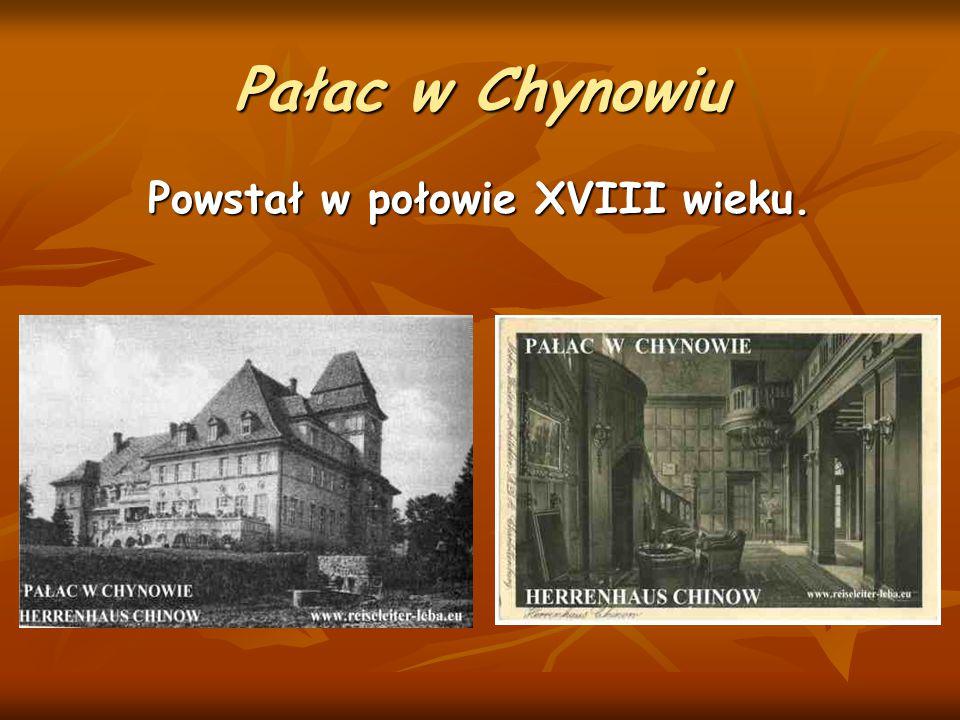 Powstał w połowie XVIII wieku.