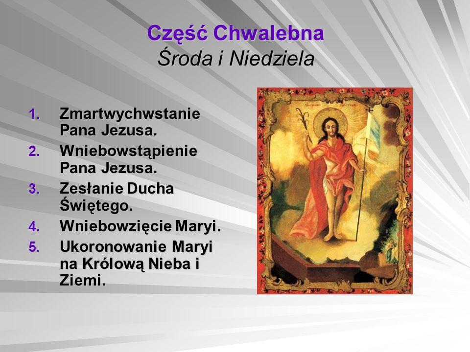 Część Chwalebna Środa i Niedziela