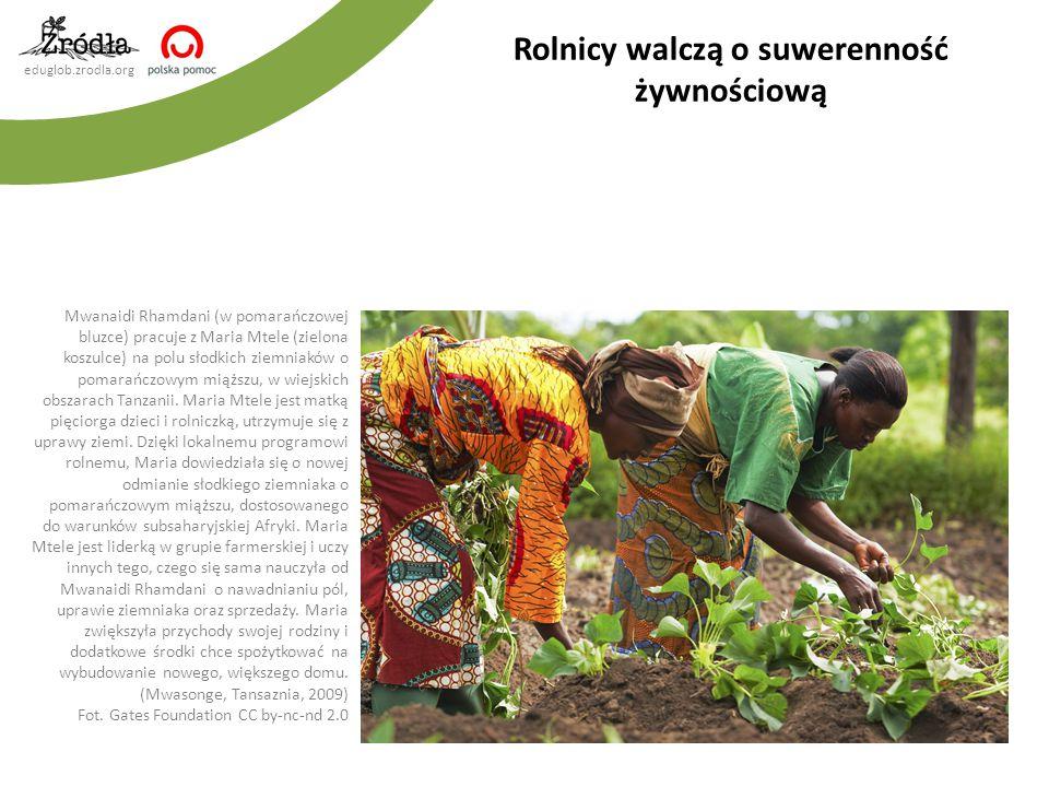 Rolnicy walczą o suwerenność żywnościową