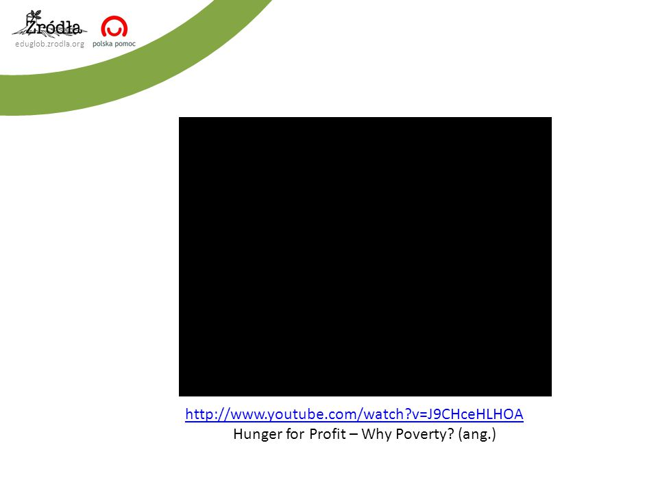 Hunger for Profit – Why Poverty (ang.)