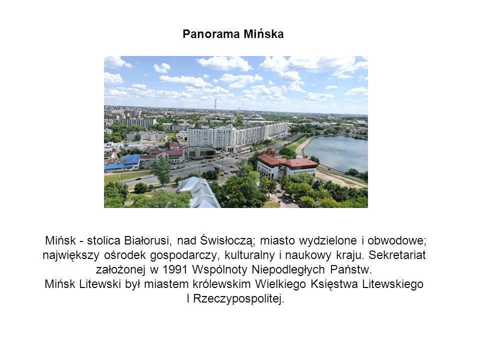 Panorama Mińska