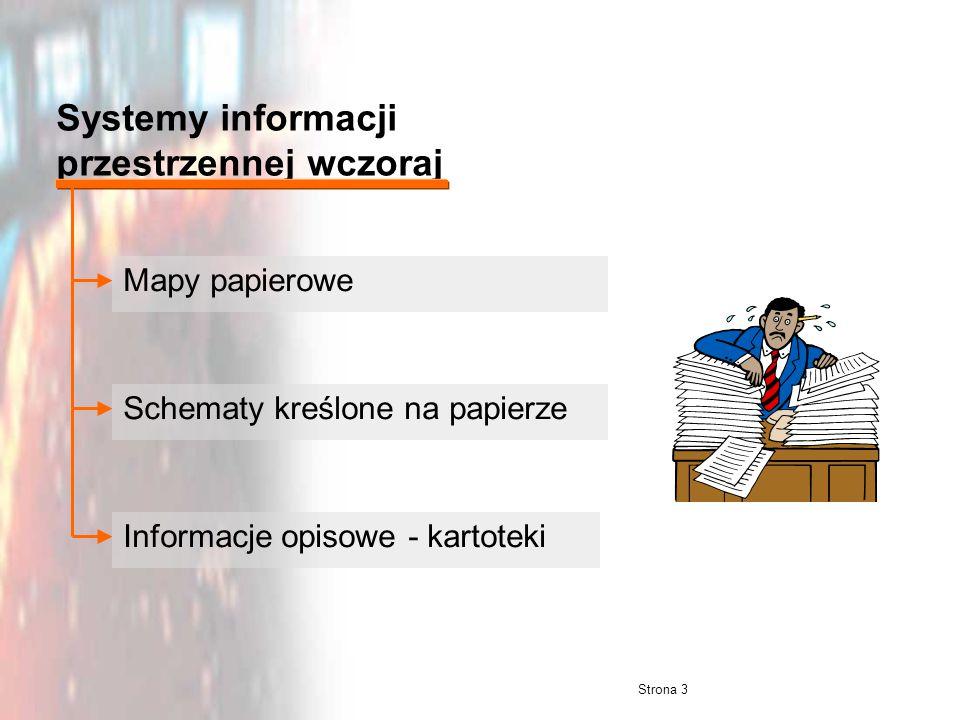 Systemy informacji przestrzennej wczoraj
