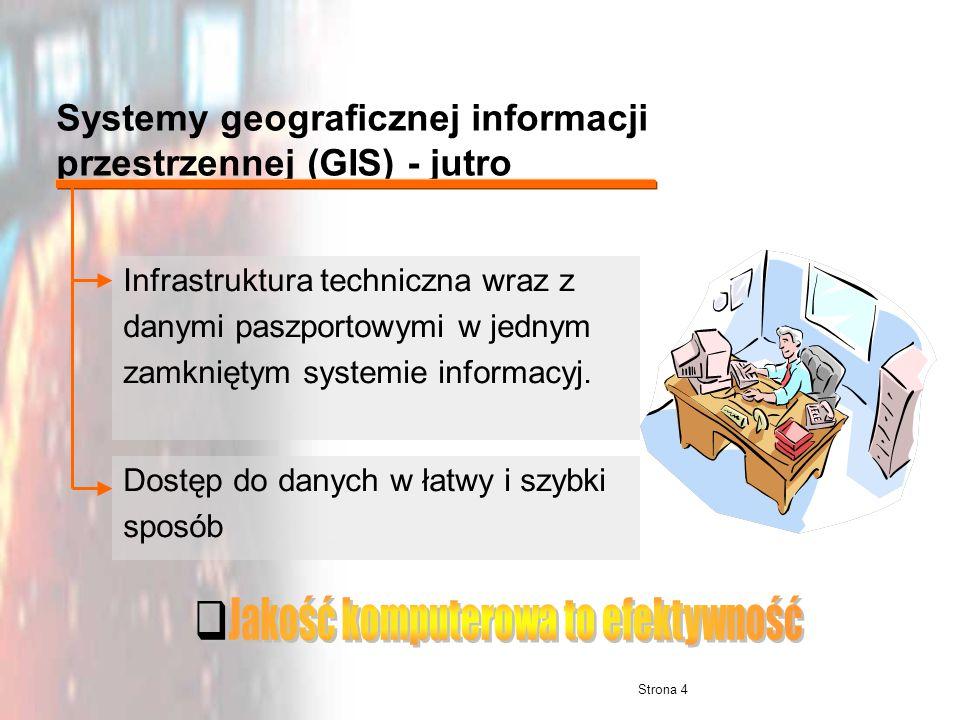 Systemy geograficznej informacji przestrzennej (GIS) - jutro