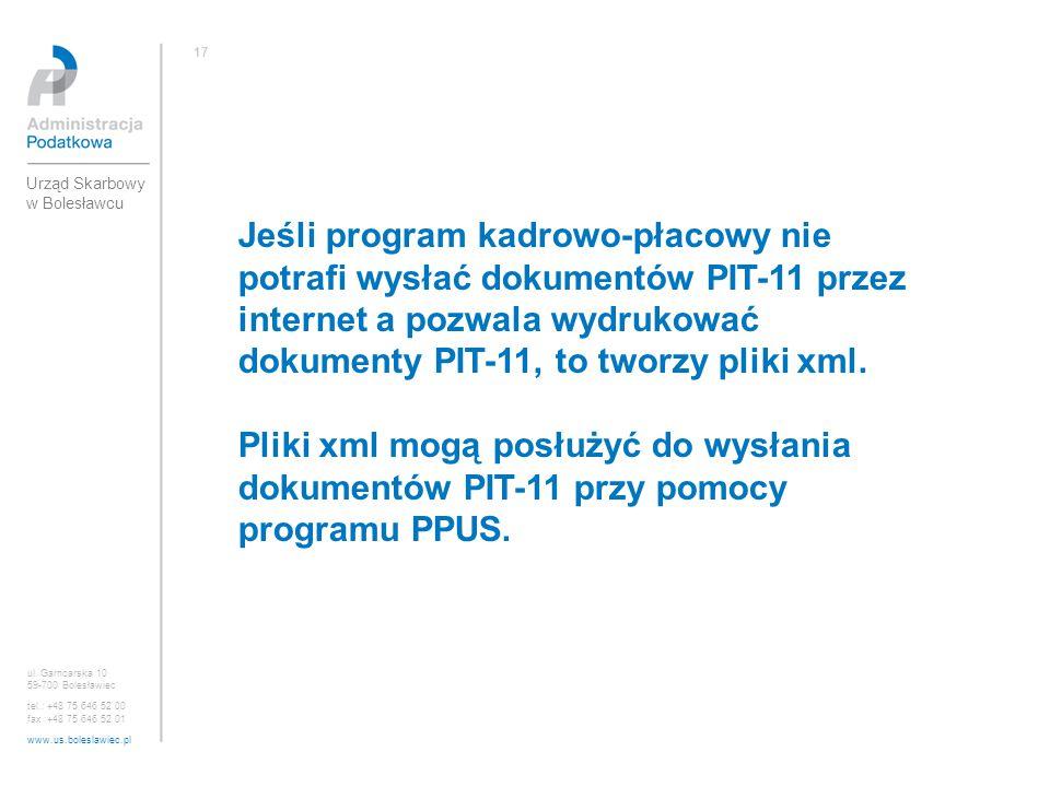 17 Urząd Skarbowy w Bolesławcu.