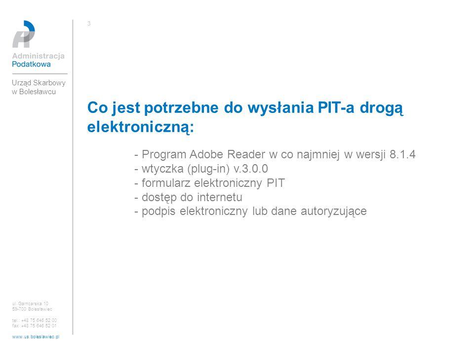 Co jest potrzebne do wysłania PIT-a drogą elektroniczną: