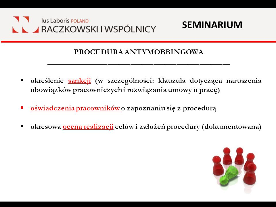 PROCEDURA ANTYMOBBINGOWA