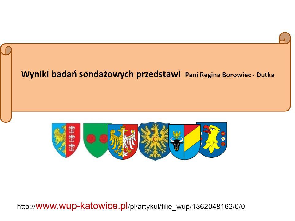 Wyniki badań sondażowych przedstawi Pani Regina Borowiec - Dutka
