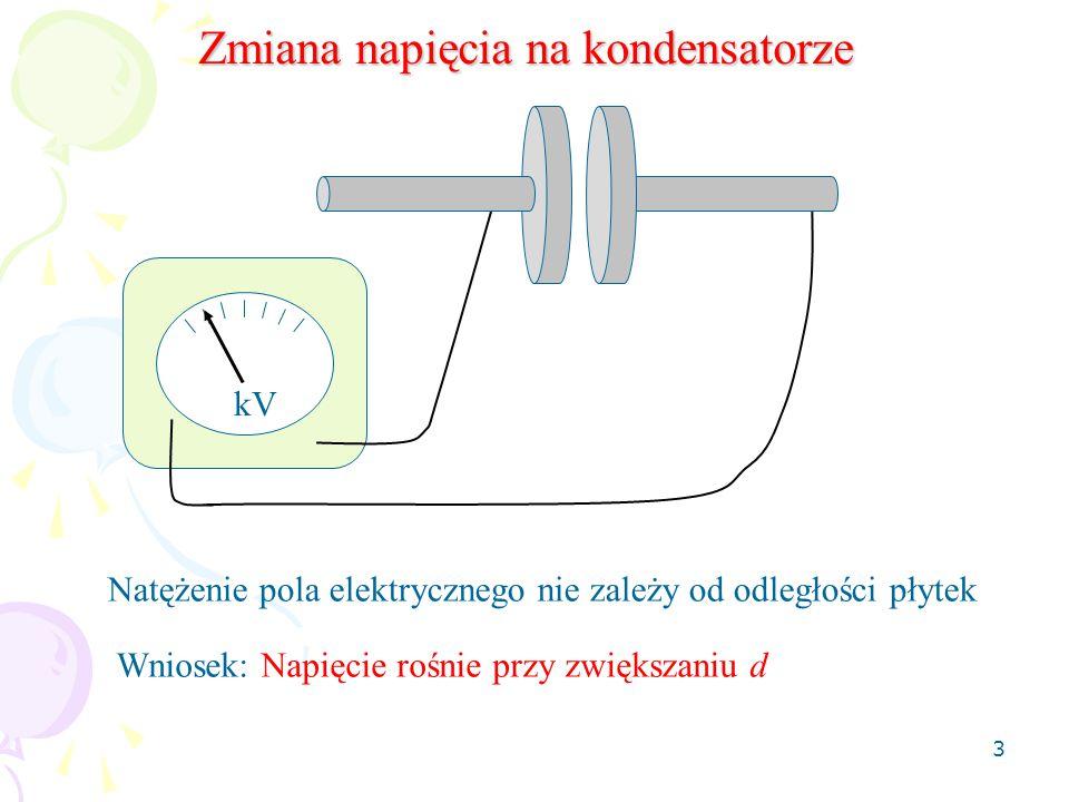 Zmiana napięcia na kondensatorze