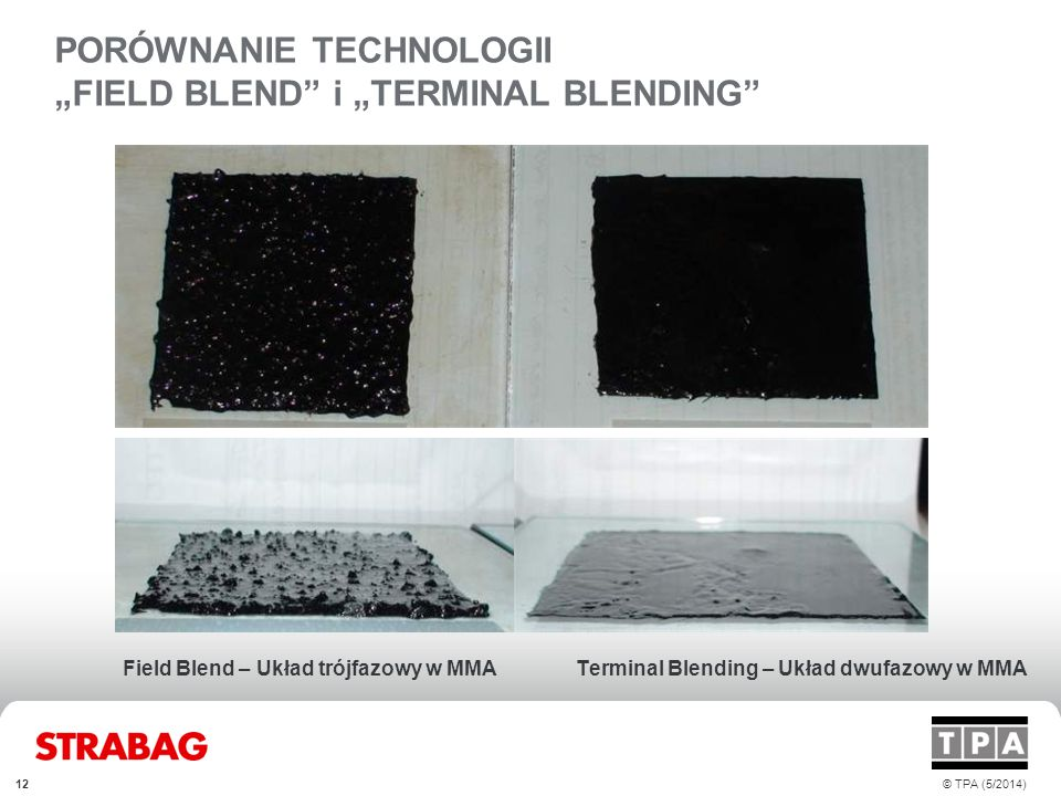 "PORÓWNANIE TECHNOLOGII ""FIELD BLEND i ""TERMINAL BLENDING"