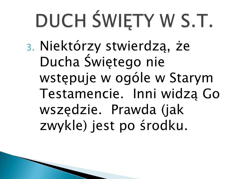 DUCH ŚWIĘTY W S.T.