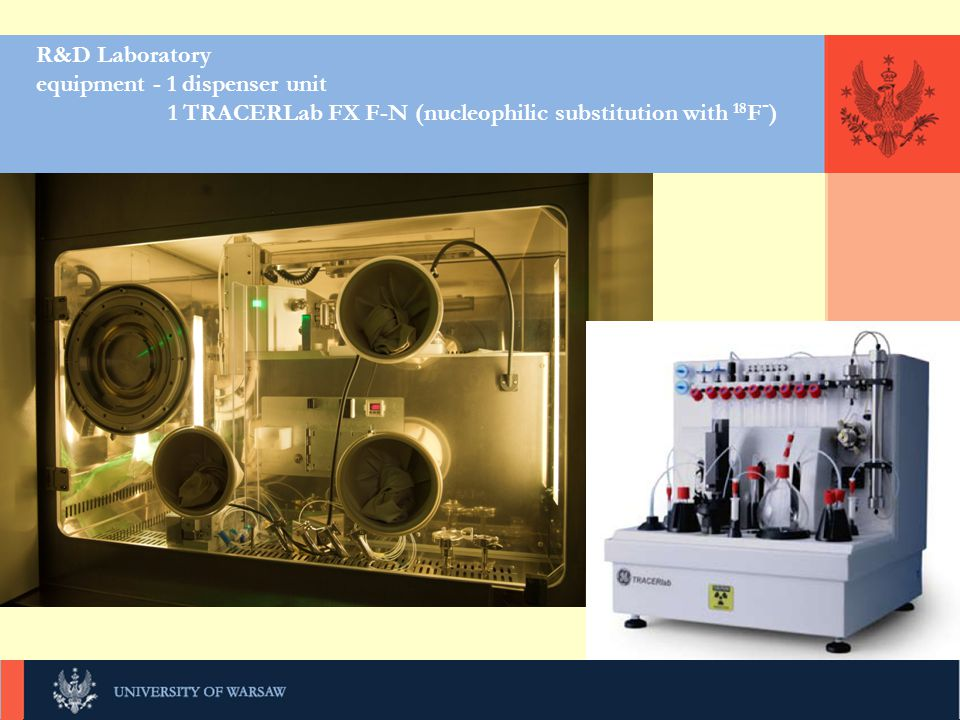 R&D Laboratory equipment - 1 dispenser unit