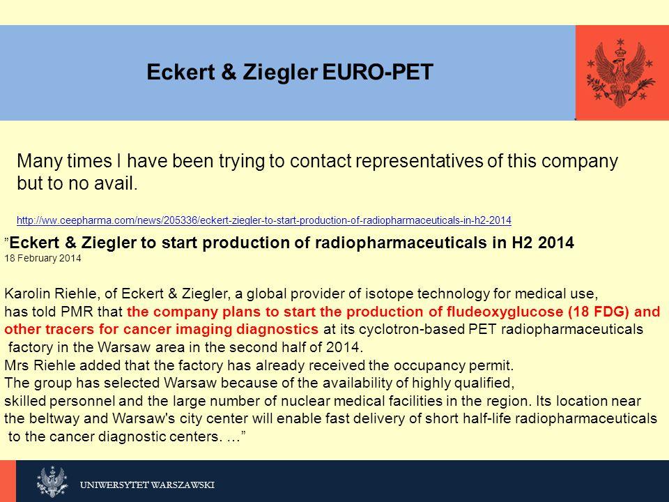 Eckert & Ziegler EURO-PET