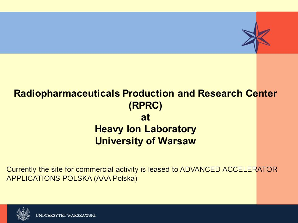 Radiopharmaceuticals Production and Research Center (RPRC)