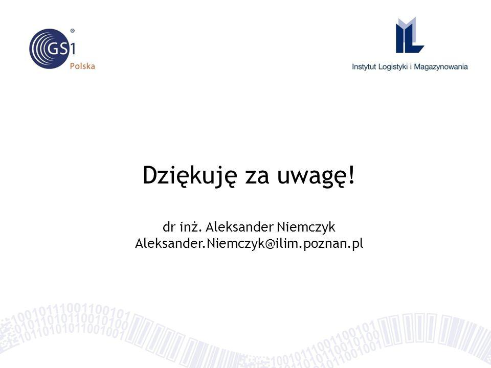 dr inż. Aleksander Niemczyk