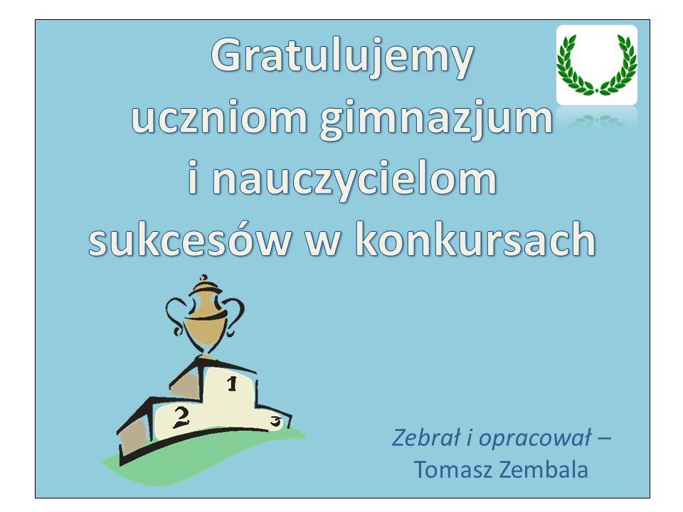 Gratulujemy uczniom gimnazjum i nauczycielom