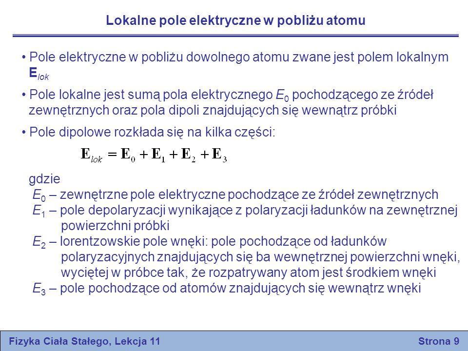 Fizyka Ciała Stałego, Lekcja 11 Strona 9