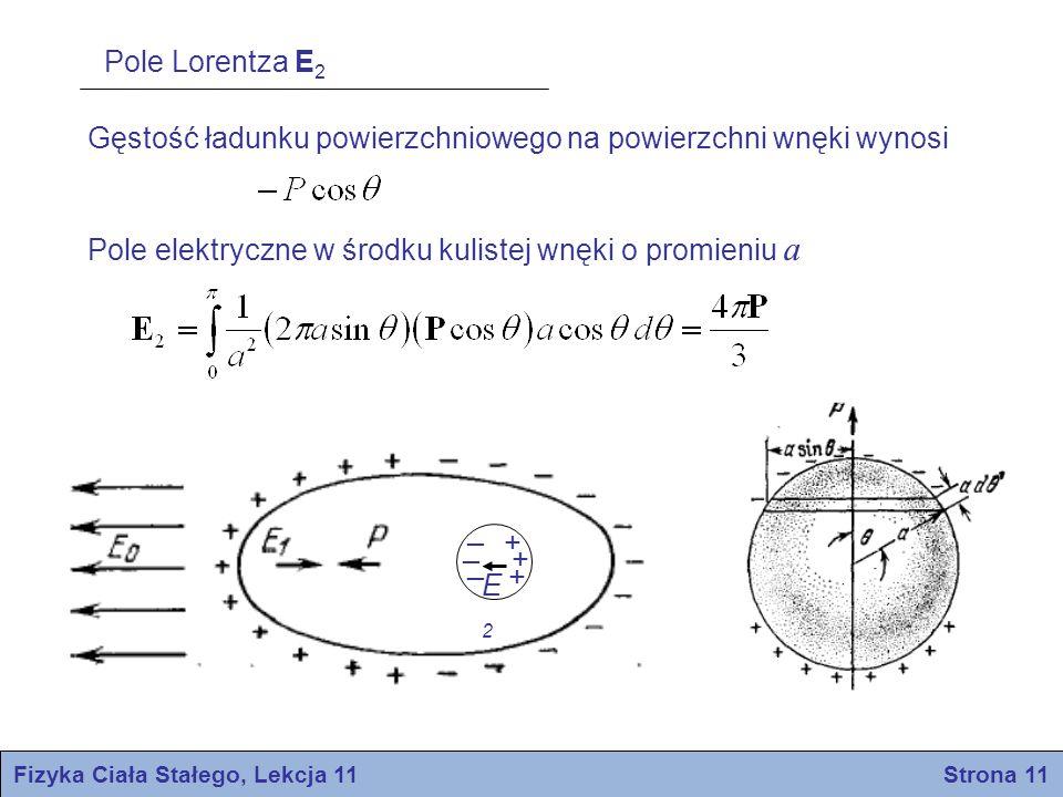 Fizyka Ciała Stałego, Lekcja 11 Strona 11