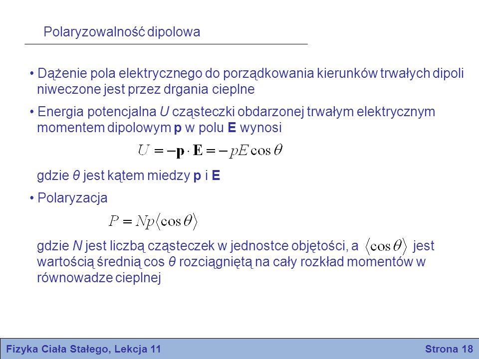 Fizyka Ciała Stałego, Lekcja 11 Strona 18