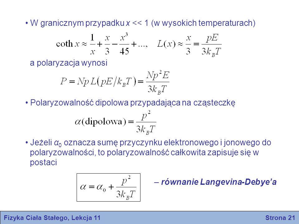 Fizyka Ciała Stałego, Lekcja 11 Strona 21
