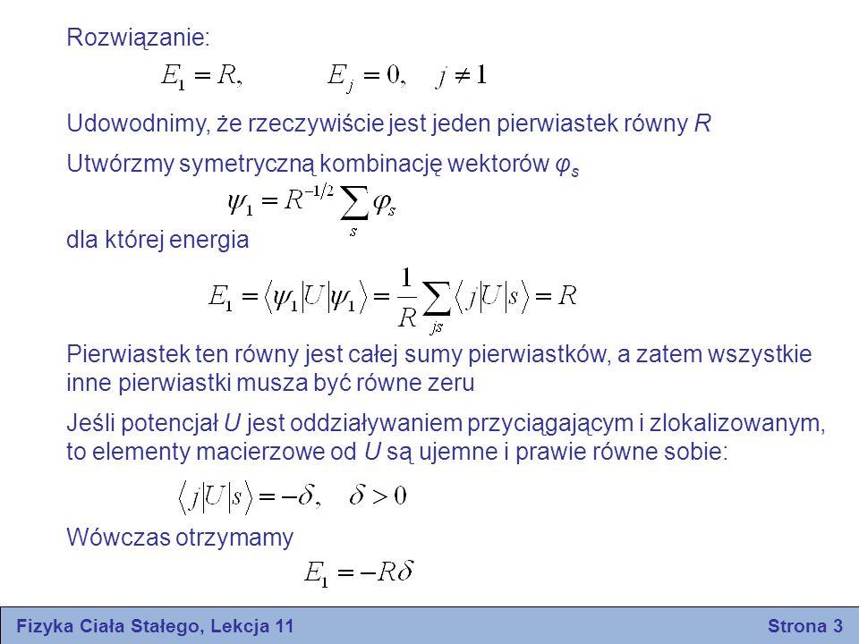 Fizyka Ciała Stałego, Lekcja 11 Strona 3