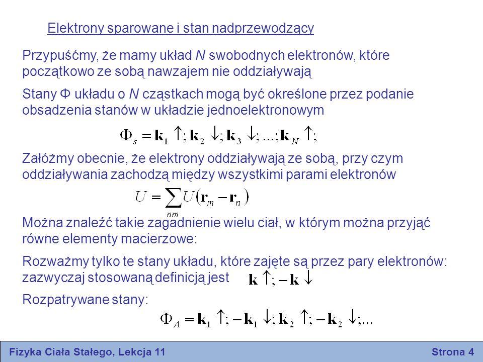 Fizyka Ciała Stałego, Lekcja 11 Strona 4