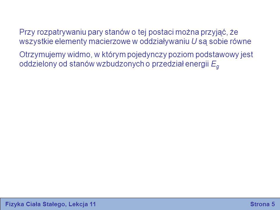 Fizyka Ciała Stałego, Lekcja 11 Strona 5