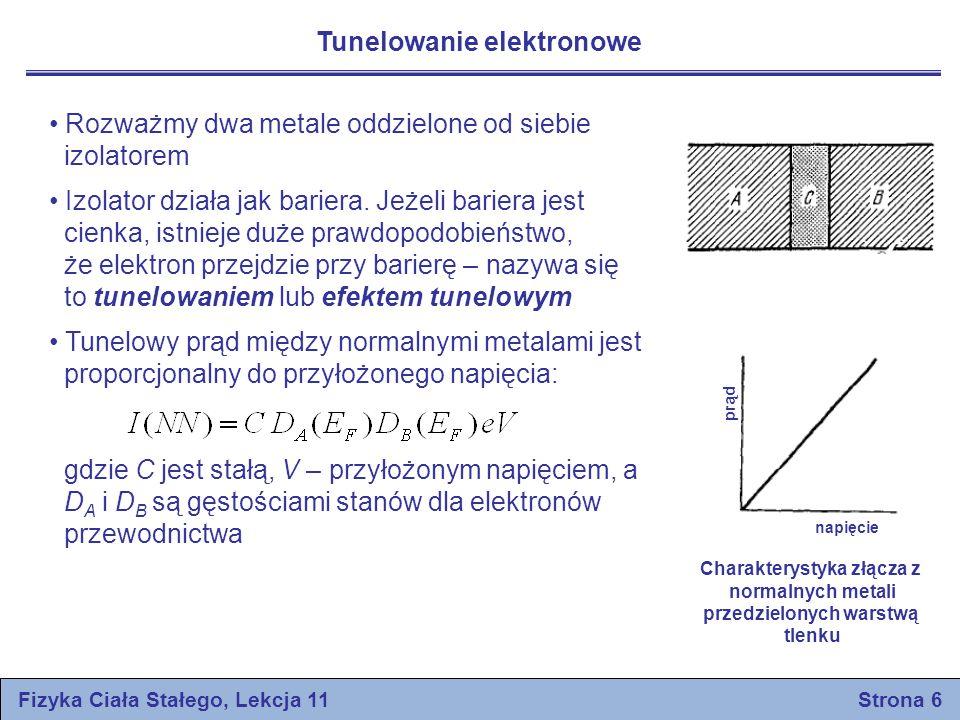 Tunelowanie elektronowe