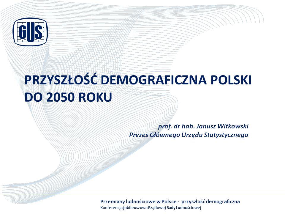 Przyszłość demograficzna Polski do 2050 roku