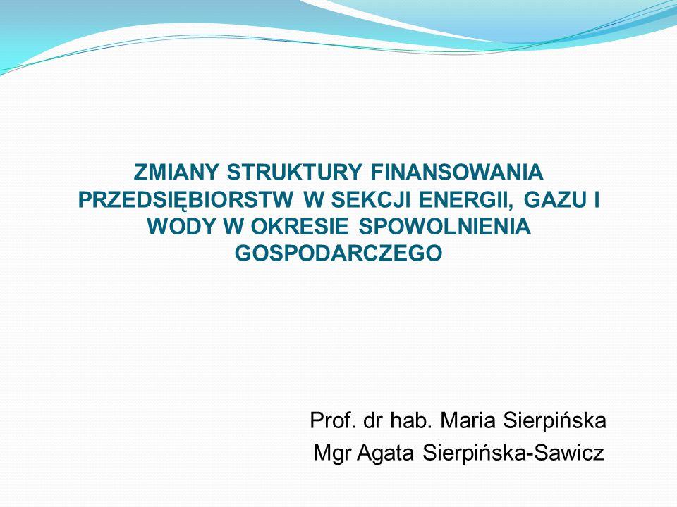 Prof. dr hab. Maria Sierpińska Mgr Agata Sierpińska-Sawicz