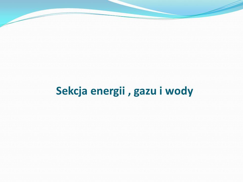 Sekcja energii , gazu i wody