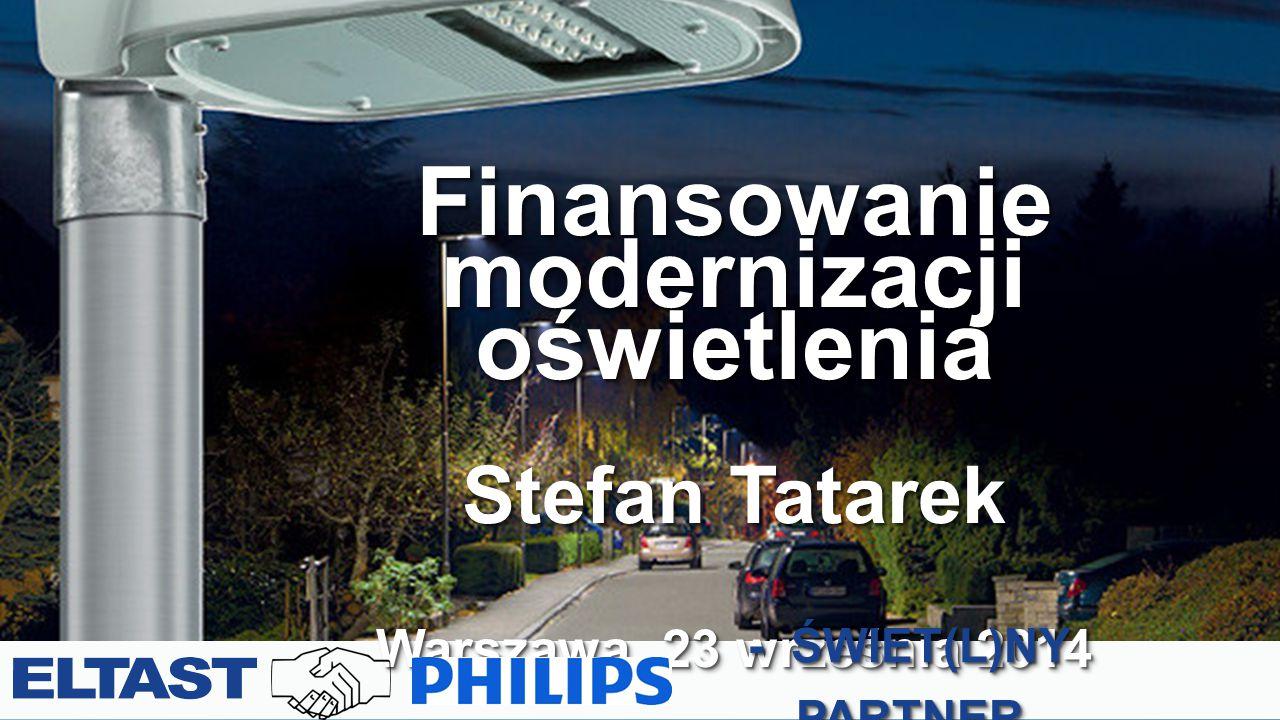 Finansowanie modernizacji oświetlenia