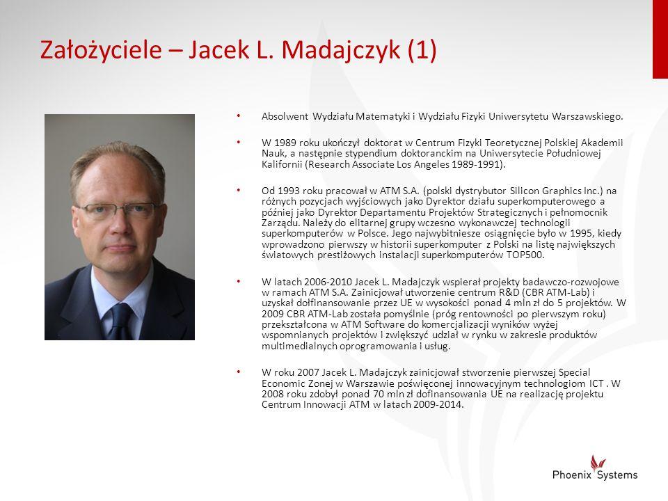 Założyciele – Jacek L. Madajczyk (1)