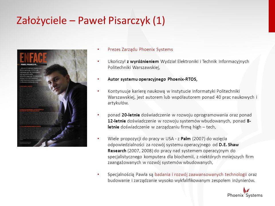 Założyciele – Paweł Pisarczyk (1)