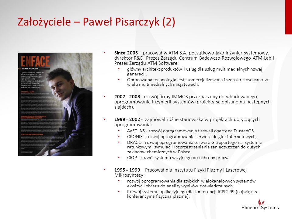 Założyciele – Paweł Pisarczyk (2)