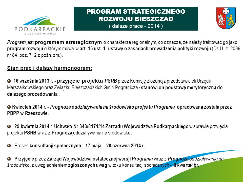 PROGRAM STRATEGICZNEGO