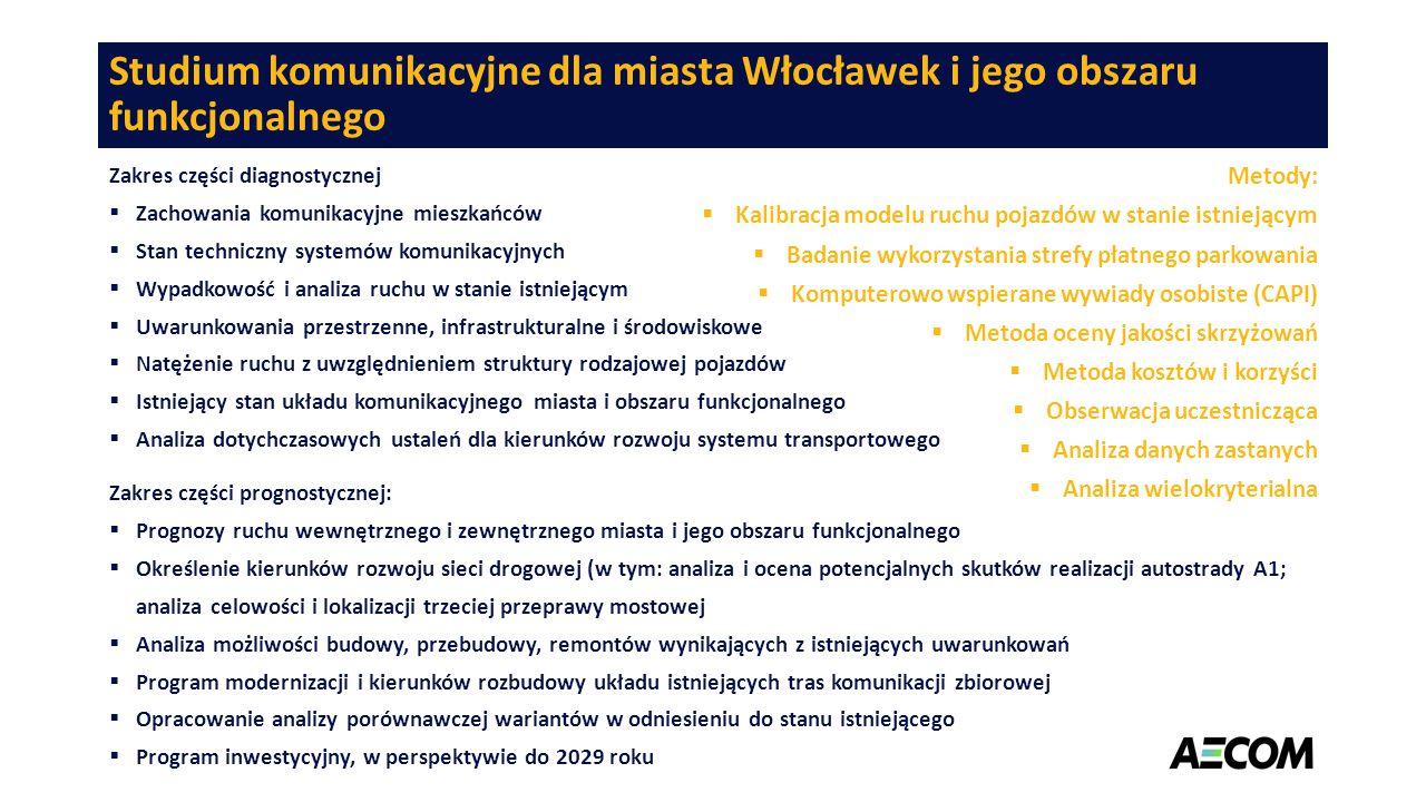 Studium komunikacyjne dla miasta Włocławek i jego obszaru funkcjonalnego