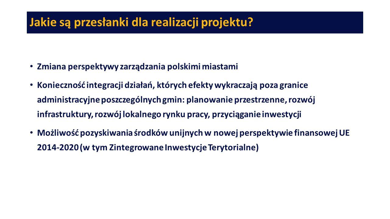 Jakie są przesłanki dla realizacji projektu