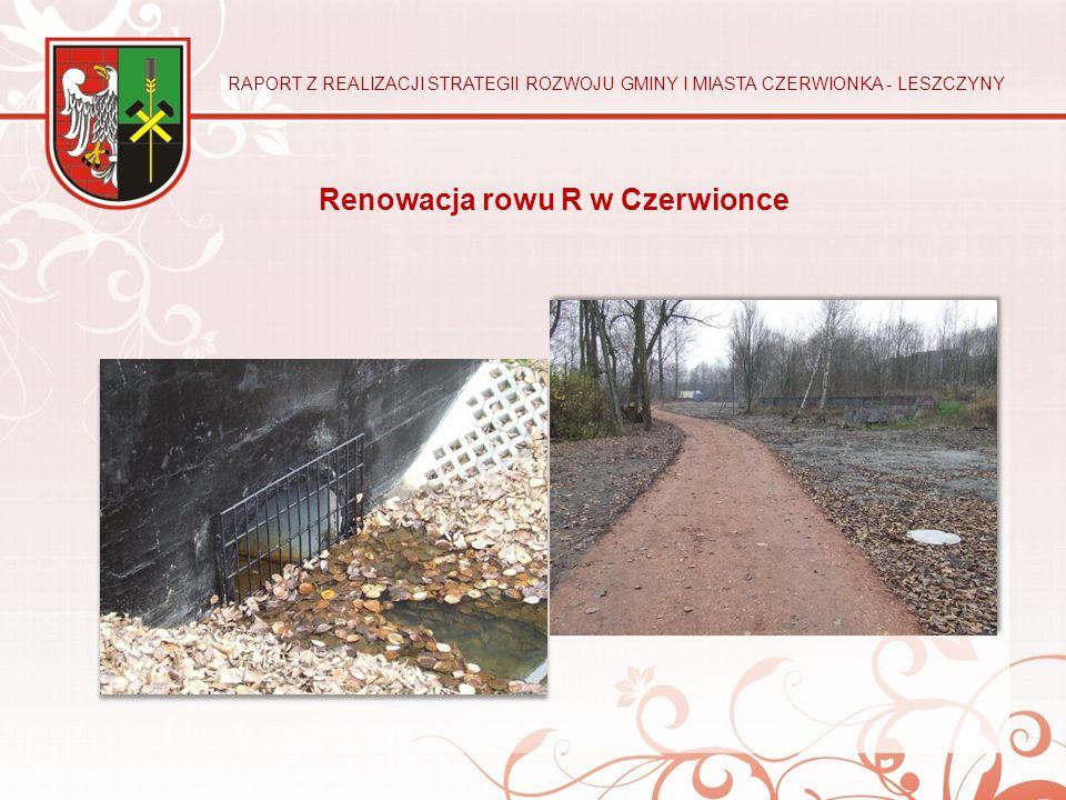 Renowacja rowu R w Czerwionce
