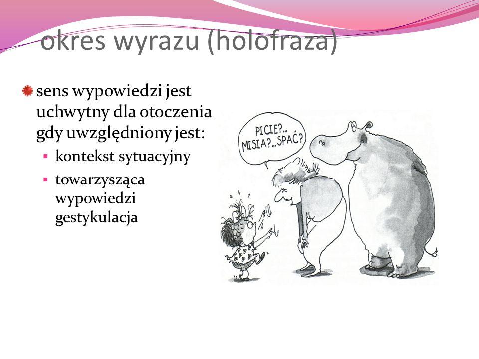 okres wyrazu (holofraza)