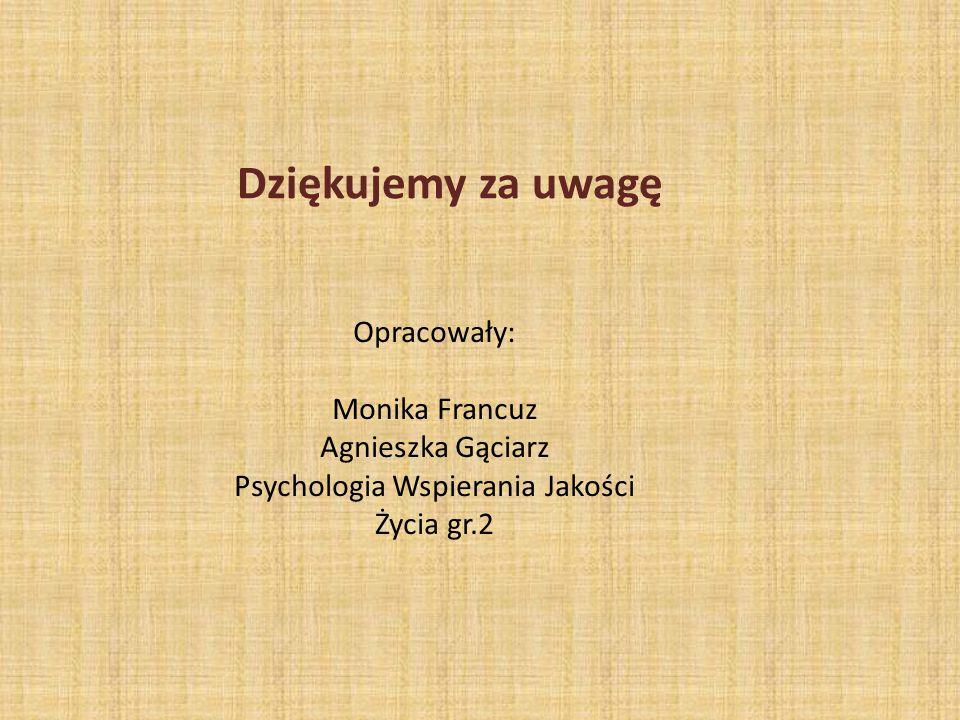 Psychologia Wspierania Jakości Życia gr.2