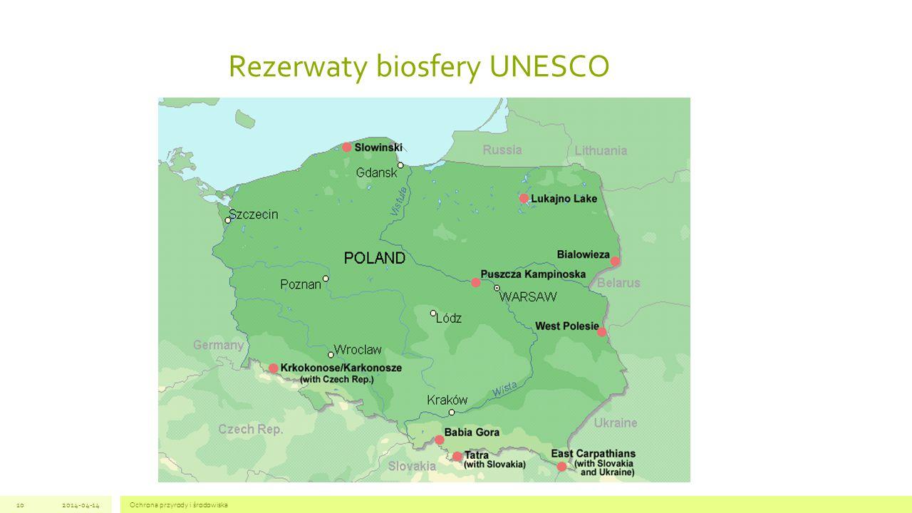 Rezerwaty biosfery UNESCO