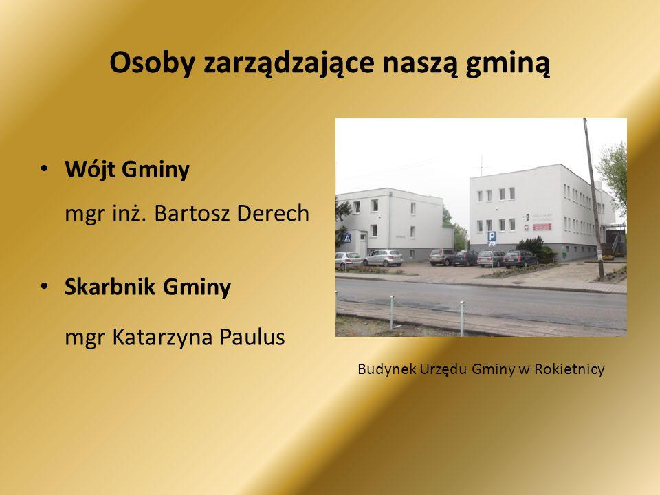 Osoby zarządzające naszą gminą