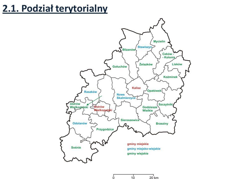2.1. Podział terytorialny